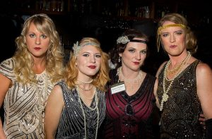 "Our staff at the ""Give Like Gatsby"" fundraiser by LAW Advocates, 2016"